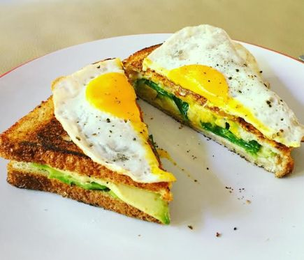 Avocado Grill Cheese 1