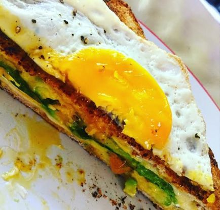 Avocado Grill Cheese 3